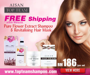 Aisan Top Team Hair Care Shampoo - Flower Extract Shampoo & Hair Mask Conditioner